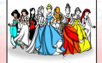 Disney Princess Coloring Game