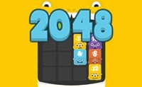 2048 Fuzzy Monsters