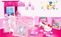 El Dormitorio de Hello Kitty
